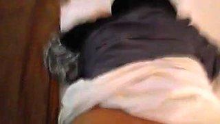 Kopftuch Braut anal gebumst