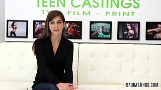 Dakota Vixin's Brutal Casting Fuck