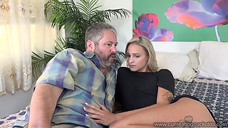 Emma Hix Hot Blonde Wife Gets Fucked By Friend in Front of Husba