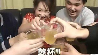 drunk girl bukkake