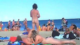 voyeur swinger beach sex