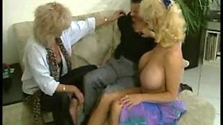 A big clit and big tits