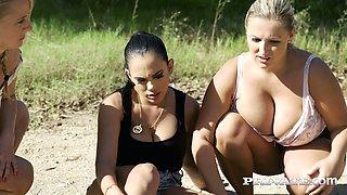 Uruguayan seductress Katrina Moreno is having wild sex with one horny dude