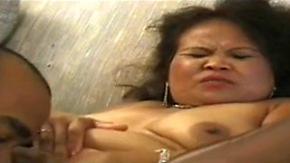 Mature Asian adores young bbc