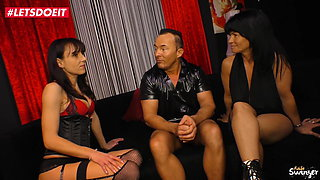 LETSDOEIT - Kinky German Threesome with Mature Swingers