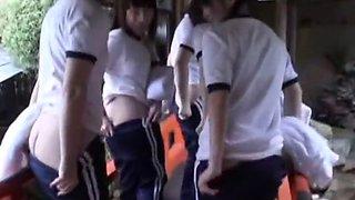 Horny Japanese whore Hitomi Nakura in Incredible Girlfriend, Sports JAV video