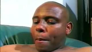 Plus Sized Ebony Babe's First Porn Shoot