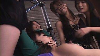 Hardcore Asian bondage with Japanese lesbians