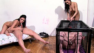 Arab mistress and sister cuckold arab slave with American BF