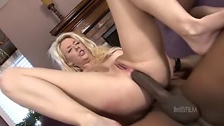 Horny pornstar Courtney Taylor in exotic gangbang, anal sex video