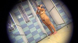 Hidden Voyeur From Shower Room