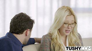 Private teacher tricks Samantha Rone into having sex with him