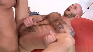 Amazing bald stud posing 7 by MarriedBF part3