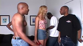 Outstanding Interracial Deepthroat xxx video