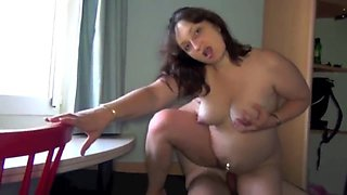 Fabulous French video with BBW,Shaved scenes