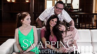 Alex Blake, Syren De Mer In Swapping Daughters