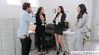 Ariana Marie & Emily Willis & Sofi Ryan - naughtyoffice
