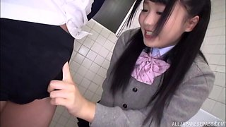 Azuki is a naughty schoolgirl interested in a stiff penis