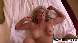 Beauty motherinlaw faye gets nailed hot tender son