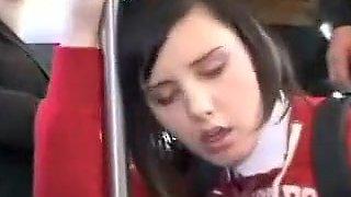 Incredible amateur Public, Bus adult clip