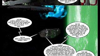 3D Comic: Battleforce Rebellion. Episode 2
