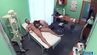 Doctor performs more than an examination on Jessica Diamond