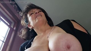 Amateur Armenian granny teacher with natural tits gets orgasms as 20 years ago