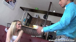 Make Him Cuckold - Petra Larkson - Cuckold punishment for unfaithful bf
