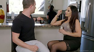 Hot Puerto Rican seductress Sheena Ryder seduces girlfriend' boyfriend