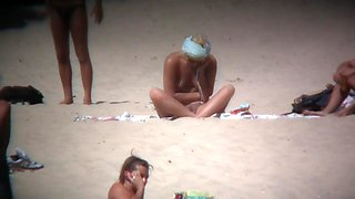 Mature nudist voyeur beach cam video