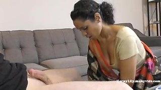 Mom and stepson sex video
