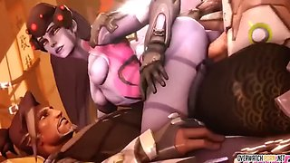 Mercy and ashe porn compilation part 8