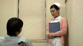 Fabulous Japanese whore in Best Nurse, Blowjob JAV movie