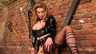 hottie spanked and licked bdsm film 1