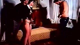 Hairy sluts fucked in full length 80s retro porn movie