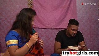 Desi Teacher fucked with college boy hardcore sex