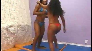 Wrestling girl