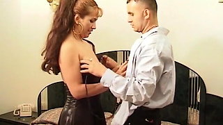 Latina Milf slut gets picked up by young Latino stud (hotel)