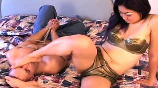 Cunning sweetheart gets body fondled well