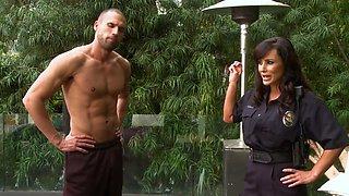Lisa Ann - Busty Cops Scene 2