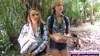 alyssa cole and haley reed fucking their stepfathers outdoors
