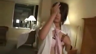 Japanese School Girl fucked and creampied