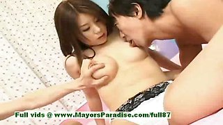 Aya Hirai innocent chinese girl gets wet creampie