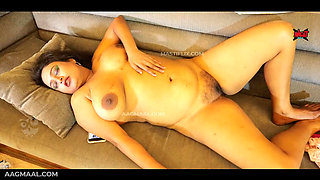 Indian BBW MILF Sucharita Masturbating Completely Nude and Uncensored