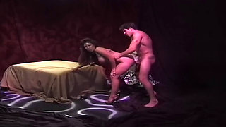 Girls suck and fuck in vintage movie