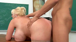mature teacher fucks her student