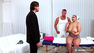 Three On A Massage Table - ScoreLand