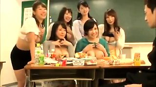 Japanese Schoolgirls Group Sex 58367