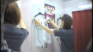 Fitting Room Spying Clothes Changing
