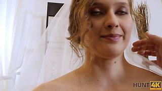 HUNT4K After wedding poor groom sells partners pussy to rich stranger